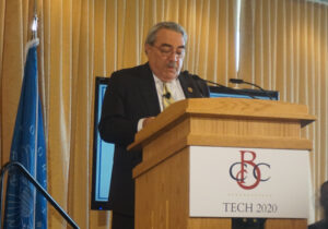 Congressman G. K. Butterfield, Chair of the Congressional Black Caucus (CBC) at the Tech 2020 launch