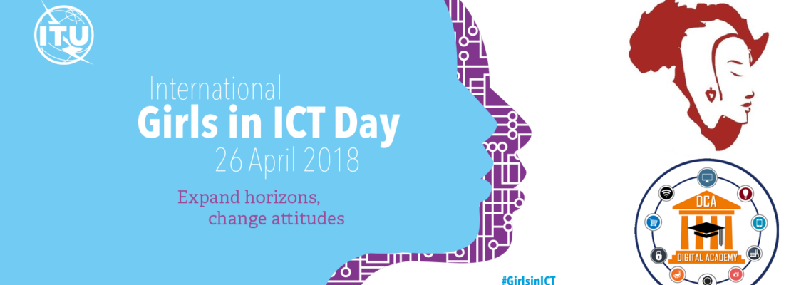 Girls in ICT Day Miss.Africa celebrates the ITU #GirlsinICT Day